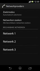 Sony C1905 Xperia M - Netwerk - gebruik in het buitenland - Stap 10