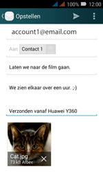 Huawei Y3 - E-mail - E-mails verzenden - Stap 18