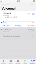 Apple iPhone 7 iOS 11 - Voicemail - Visual Voicemail - Stap 23