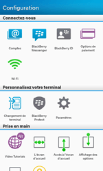 BlackBerry Z10 - E-mail - Configuration manuelle - Étape 4
