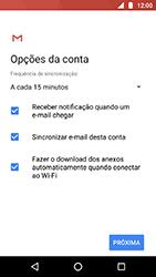 Motorola Moto X4 - Email - Como configurar seu celular para receber e enviar e-mails - Etapa 10
