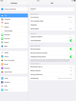 Apple iPad Pro 12.9 inch (2nd generation) - E-mail - Account instellen (IMAP zonder SMTP-verificatie) - Stap 30
