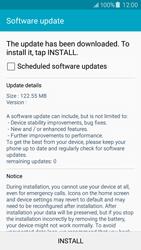 Samsung J500F Galaxy J5 - Network - Installing software updates - Step 8