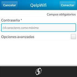 BlackBerry Q5 - WiFi - Conectarse a una red WiFi - Paso 8