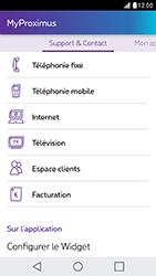LG X Cam - Applications - MyProximus - Étape 21