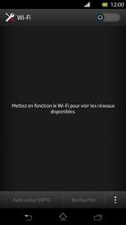 Sony LT30p Xperia T - Wifi - configuration manuelle - Étape 4