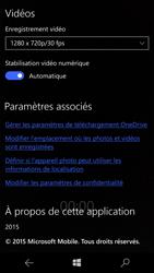 Microsoft Lumia 550 - Photos, vidéos, musique - Créer une vidéo - Étape 8