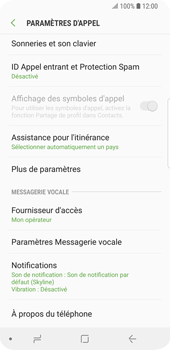 Samsung Galaxy S9 - Messagerie vocale - Configuration manuelle - Étape 6