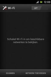 Sony ST23i Xperia Miro - Wifi - handmatig instellen - Stap 5