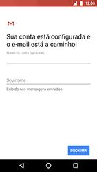 Motorola Moto X4 - Email - Como configurar seu celular para receber e enviar e-mails - Etapa 11