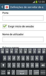 Samsung Galaxy Trend Plus - Email - Configurar a conta de Email -  14