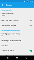 Sony Xperia Z5 Compact (E5823) - Voicemail - Handmatig instellen - Stap 5