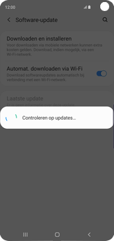 Samsung Galaxy S10 - Software update - update installeren zonder PC - Stap 6