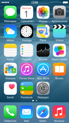 Apple iPhone 5c iOS 8 - E-mail - Configuration manuelle - Étape 2
