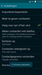 Samsung Galaxy Alpha 4G (SM-G850F) - Contacten en data - Contacten kopiëren van toestel naar SIM - Stap 12