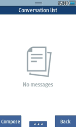 Samsung S5250 Wave 525 - SMS - Manual configuration - Step 4