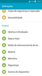 Samsung Galaxy Grand Prime - Segurança - Como ativar o código PIN do cartão de telemóvel -  4