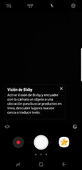 Samsung Galaxy S8 - Funciones básicas - Uso de la camára - Paso 8