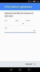 Huawei P9 - Android Nougat - Applications - Créer un compte - Étape 8