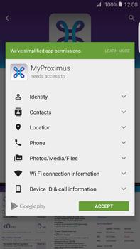 Samsung Galaxy S6 edge+ - Applications - MyProximus - Step 8