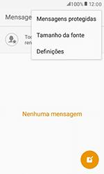 Samsung Galaxy Xcover 3 (G389) - SMS - Como configurar o centro de mensagens -  5