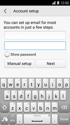Huawei Ascend Y550 - E-mail - Manual configuration (outlook) - Step 7