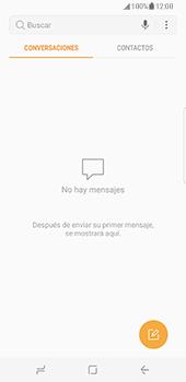 Samsung Galaxy S8 - Mensajería - Configurar el equipo para mensajes de texto - Paso 4