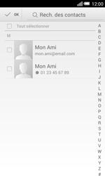 Alcatel OT-5050X Pop S3 - Contact, Appels, SMS/MMS - Envoyer un SMS - Étape 6