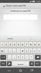 Sony Xperia Z2 - Sécuriser votre mobile - Activer le code de verrouillage - Étape 9