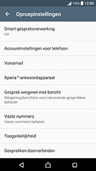 Sony Xperia X Performance (F8131) - Voicemail - Handmatig instellen - Stap 5
