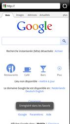 HTC Z715e Sensation XE - Internet - navigation sur Internet - Étape 7