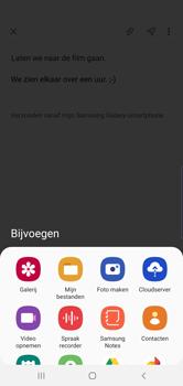 Samsung galaxy-s10-dual-sim-sm-g973f - E-mail - Bericht met attachment versturen - Stap 13
