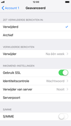 Apple iPhone 8 - iOS 12 - E-mail - Account instellen (POP3 zonder SMTP-verificatie) - Stap 22