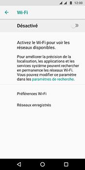 Motorola Moto G6 - Internet et connexion - Accéder au réseau Wi-Fi - Étape 6