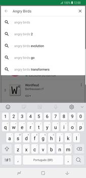 Samsung Galaxy S9 Plus - Aplicativos - Como baixar aplicativos - Etapa 13