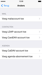 Apple iPhone 5 iOS 8 - E-mail - Account instellen (POP3 zonder SMTP-verificatie) - Stap 6