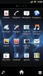 Sony MT27i Xperia Sola - E-mail - Configuration manuelle - Étape 3