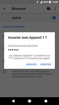 Sony Xperia XA2 Ultra - Internet et connexion - Connexion avec un équipement multimédia via Bluetooth - Étape 9