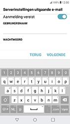 LG K11 - E-mail - Account instellen (IMAP zonder SMTP-verificatie) - Stap 17