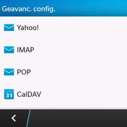 BlackBerry Q10 - E-mail - Handmatig instellen - Stap 7