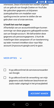 ZTE Blade V9 - Applicaties - Account instellen - Stap 14