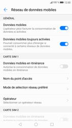 Huawei P9 Lite - Android Nougat - Réseau - Sélection manuelle du réseau - Étape 5
