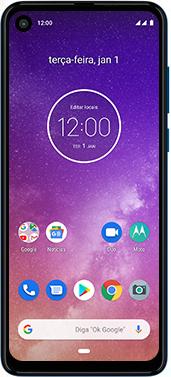 Motorola One Vision - Funções básicas - Como reiniciar o aparelho - Etapa 2