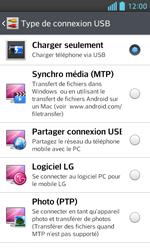 LG Optimus L5 II - Internet et connexion - Utiliser le mode modem par USB - Étape 6