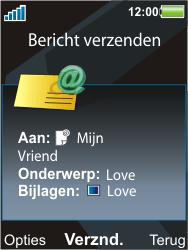 Sony Ericsson C903 - E-mail - Hoe te versturen - Stap 15