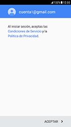 Samsung Galaxy S6 - Android Nougat - E-mail - Configurar Gmail - Paso 13