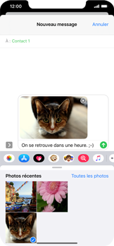 Apple iPhone XS Max - iOS 13 - MMS - envoi d'images - Étape 14