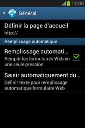 Samsung S6810P Galaxy Fame - Internet - configuration manuelle - Étape 27