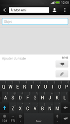 HTC One - MMS - envoi d'images - Étape 8