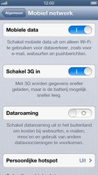Apple iPhone 5 - Netwerk - Wijzig netwerkmodus - Stap 5